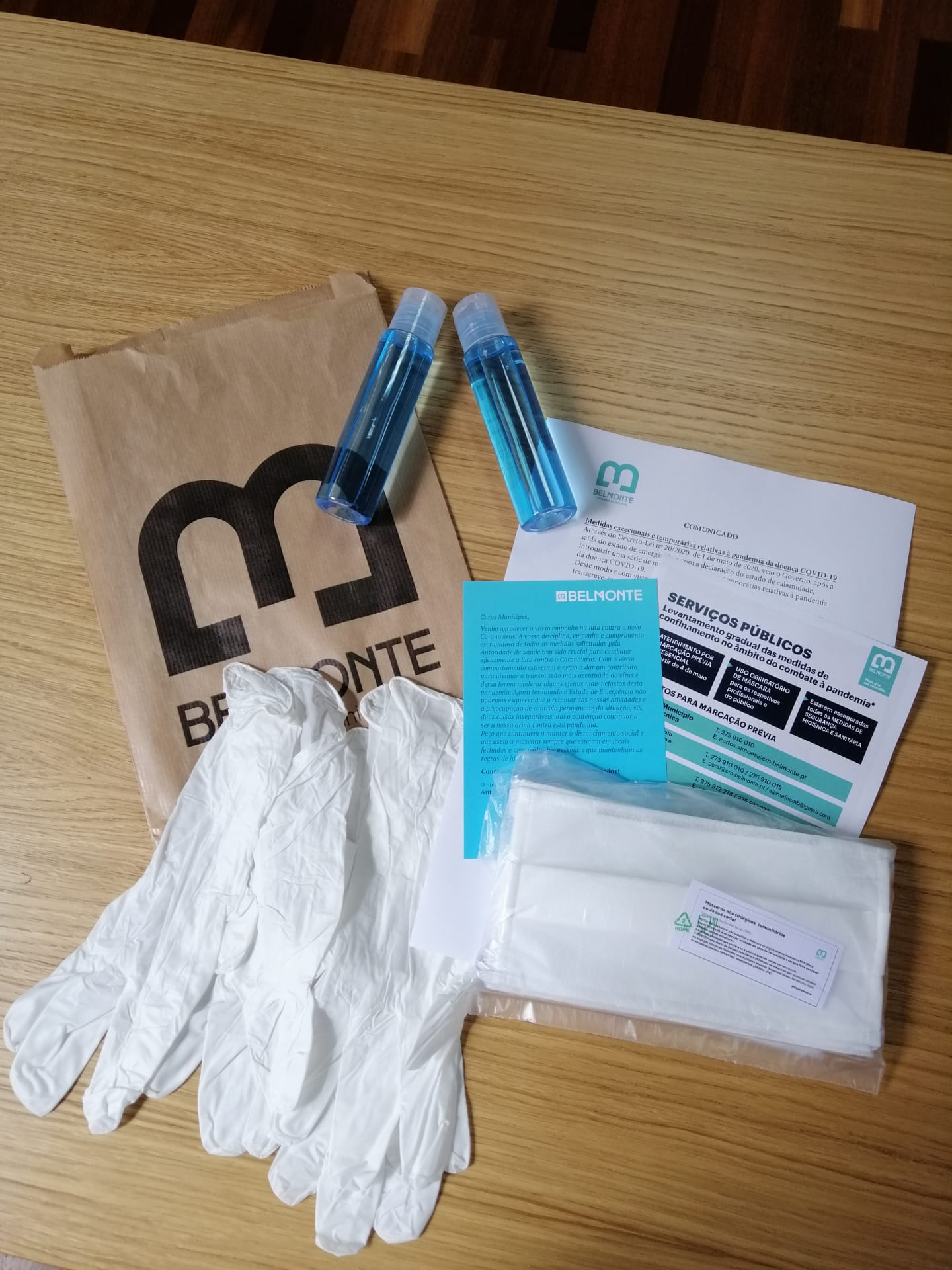 Kit de Higiene e Proteção Belmonte