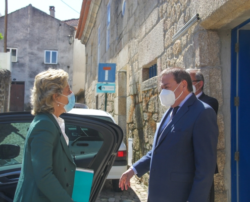Visita da Ministra da Coesão Territorial a Belmonte